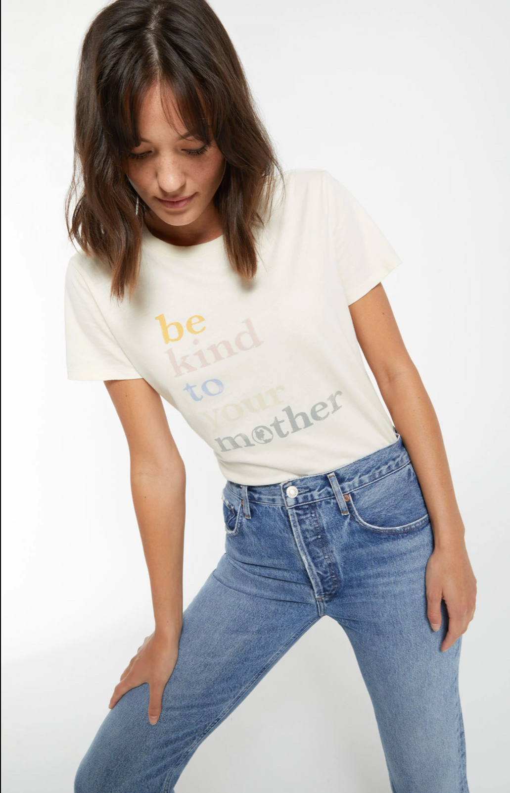 Z Supply Easy Tee - Be Kind