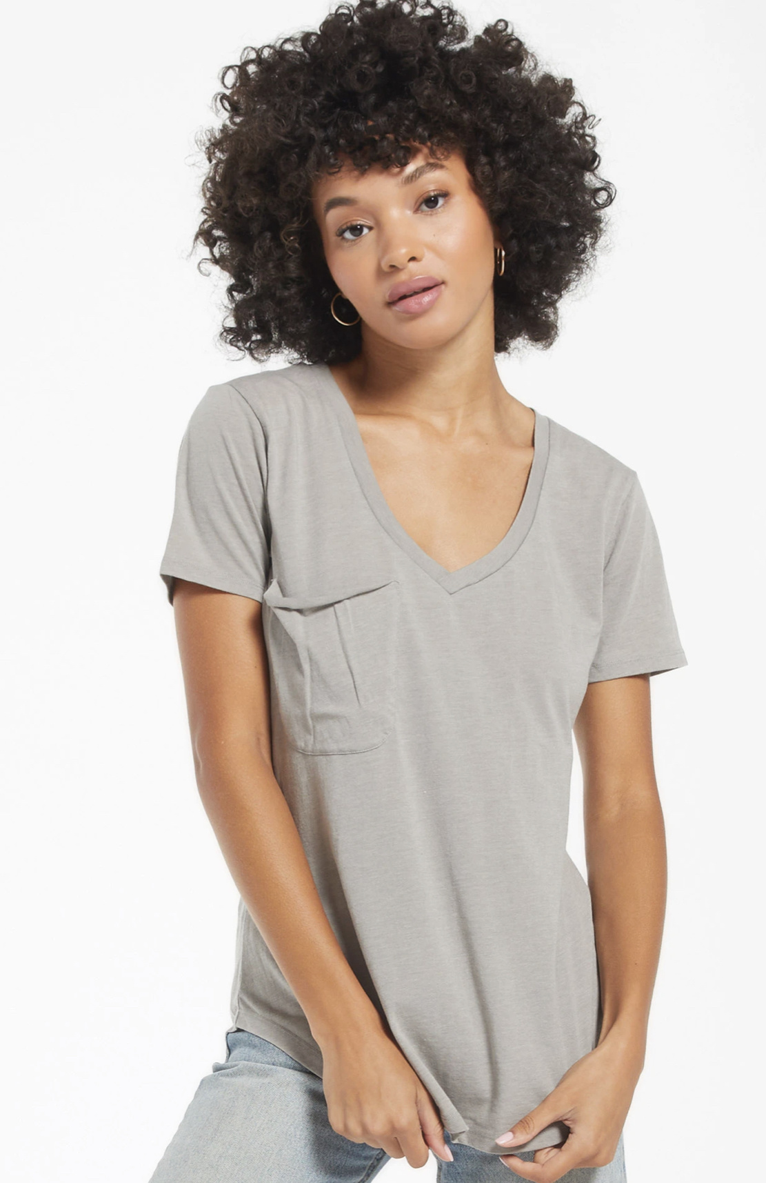 Z Supply The Pocket Tee Pack - Peach + Sage