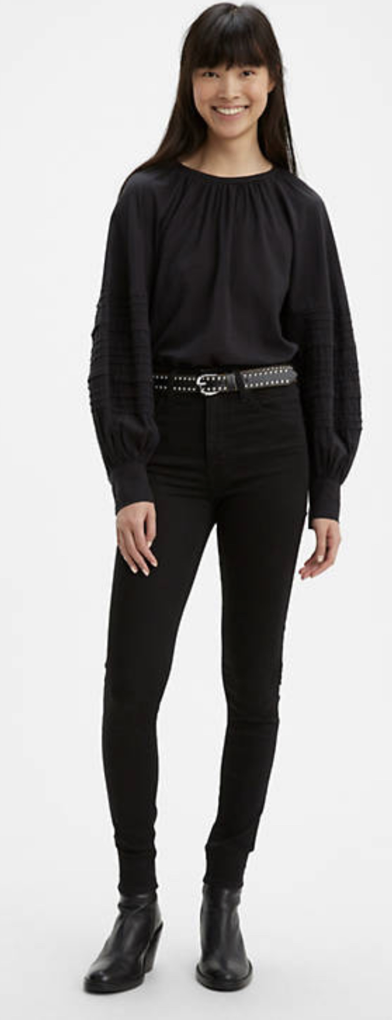 # 9 - Mallory Top + Mile High Jeans