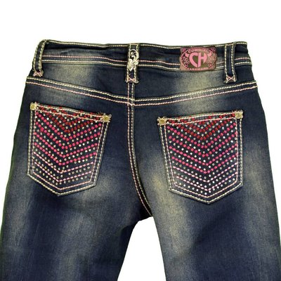 Cowboy Hardware Youth Chevron Jean