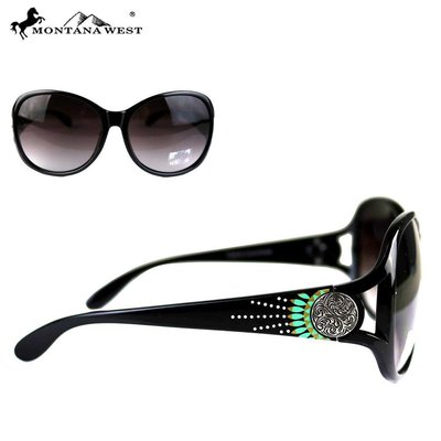 Montana West Concho Sunglasses
