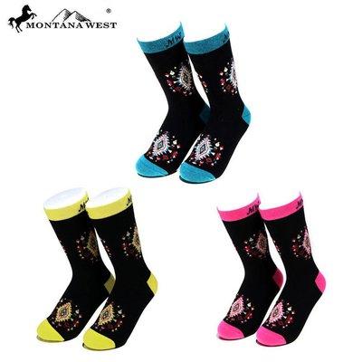 Montana West Aztec Sock
