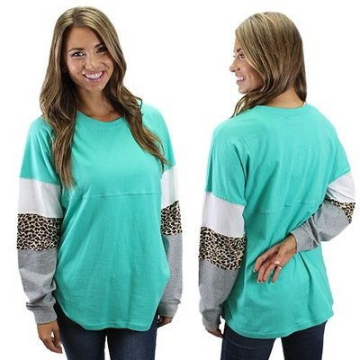 Spirit Jersey with Leopard Sleeves