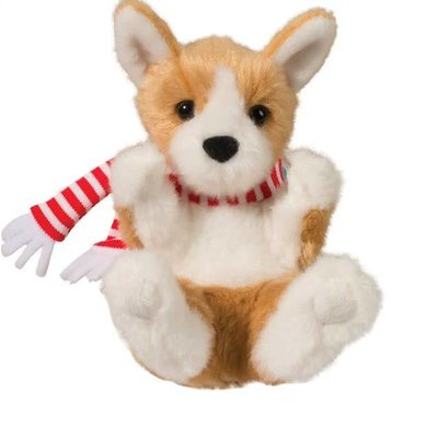 Douglas Lil' Handful Holiday Plush