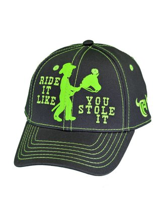 Cowboy Hardware Ride It Like You Stole It Toddler Cap ce7126e6e59d
