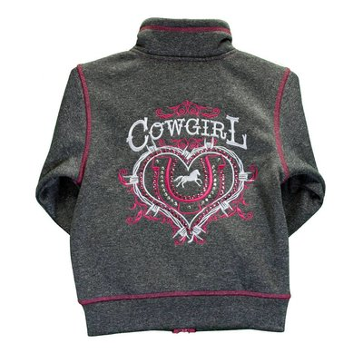 Cowboy Hardware Youth Cowgirl Ranch Zip Cadet