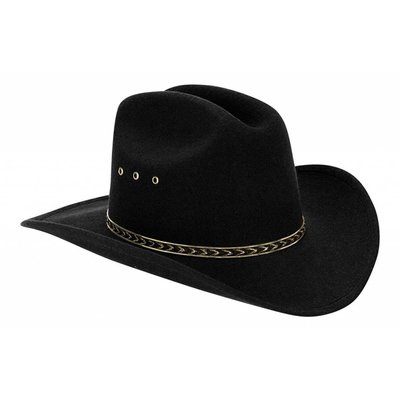 Adult Black Rodeo Hat
