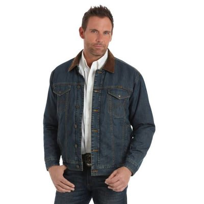 Wrangler Blanket Lined Denim CC Jacket