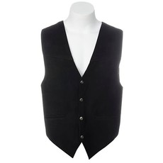 Scully Satin Back Suede Vest
