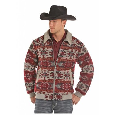 Panhandle Slim Men's Aztec Print Wool Jacket