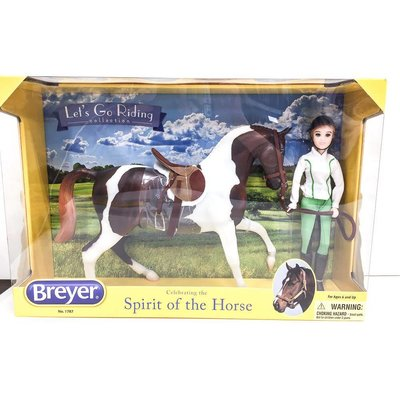 Breyer Let's Go Riding Set English