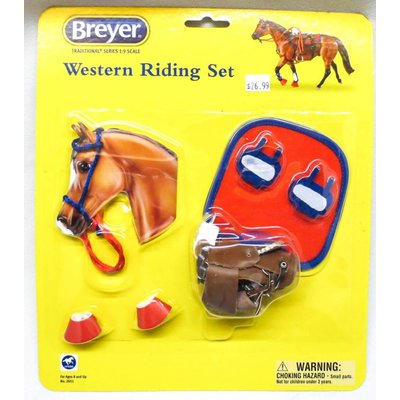 Breyer Riding Set