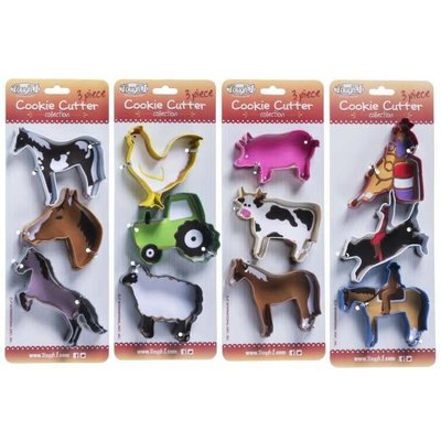 Cookie Cutters 3 Pack
