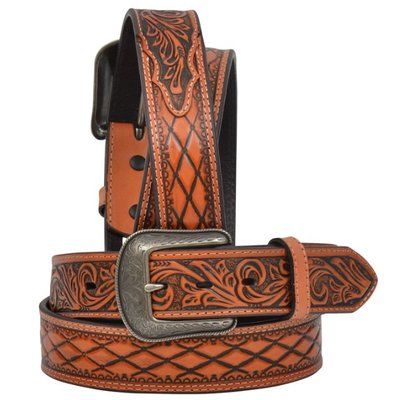 3D Natural Men's Western Fashion Belt 1263