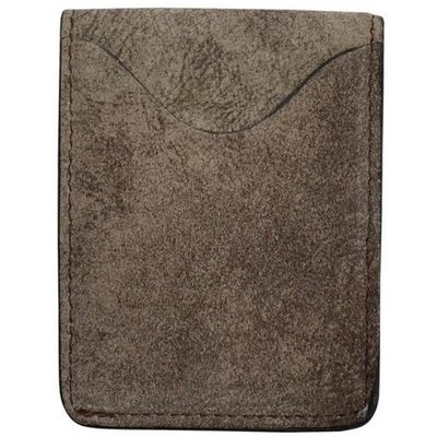 3D Brown Basic ID Card and Money Holder - W258