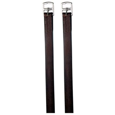 "54"" Dark Brown Stirrup Leathers"