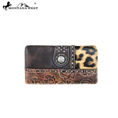 Montana West Safari Patch Western Wallet