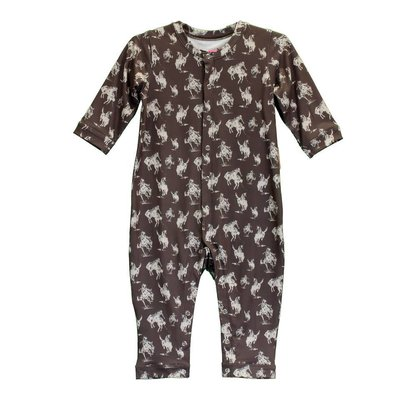 Cowboy Hardware Infant Bucking Horse Romper