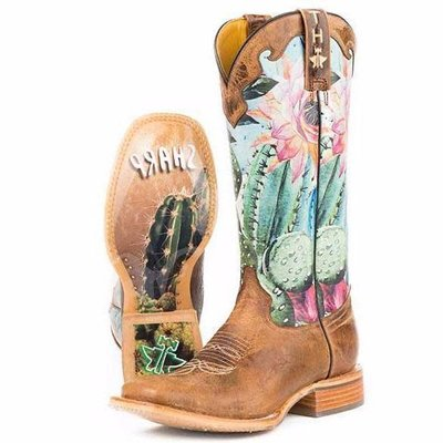 Tin Haul Cactilicious Women's Boot
