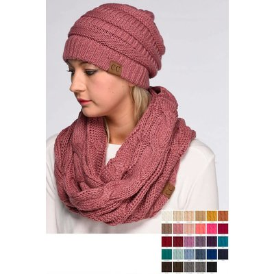 CC Knitted Scarf