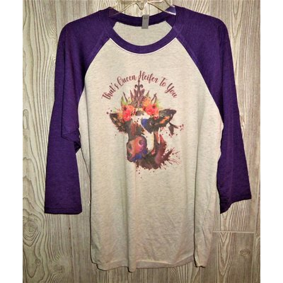 Diamond Royal Tack That's Queen Heifer To You Baseball Tee