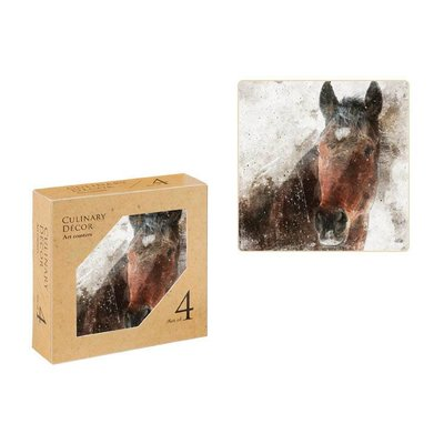 The Horse Coaster Set of 4