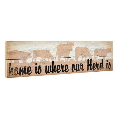 Where our Herd is Crate Sign