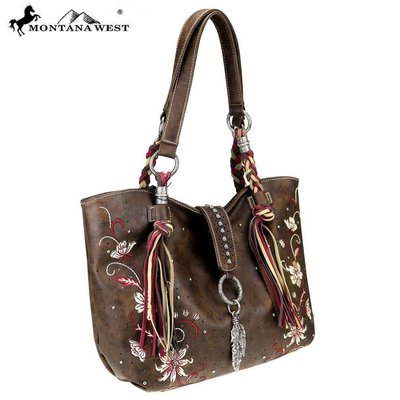 Montana West Embroidered Tote