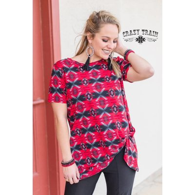 Crazy Train Clothing Miss Navajo Knot Top