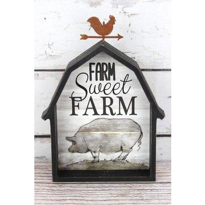 Farm Animal Barn Sign