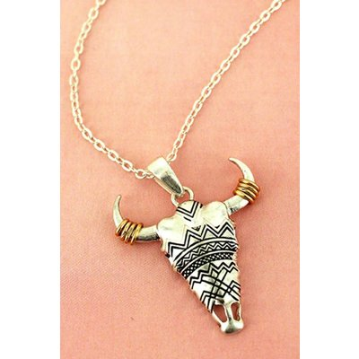 Crave Tribal Steer Necklace