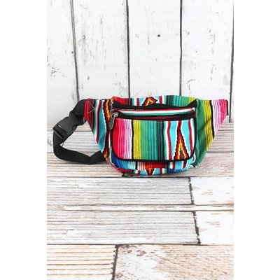 Western Print Fanny Pack