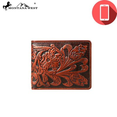 Montana West Men's Charging Wallet