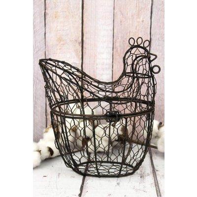 Metal Wire Chicken Basket