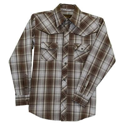 Cowboy Hardware Youth Fellow Plaid Western Shirt