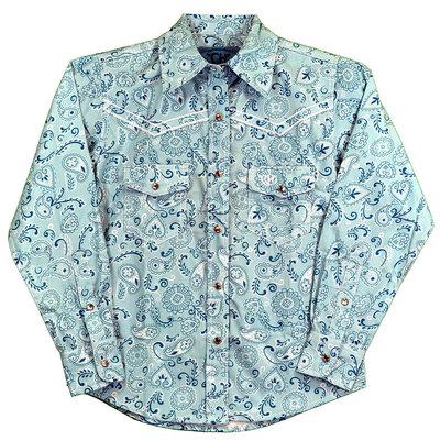 Cowboy Hardware Youth Retro Bandana Western Shirt