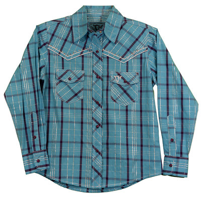 Cowboy Hardware Toddler Range Plaid Western Shirt