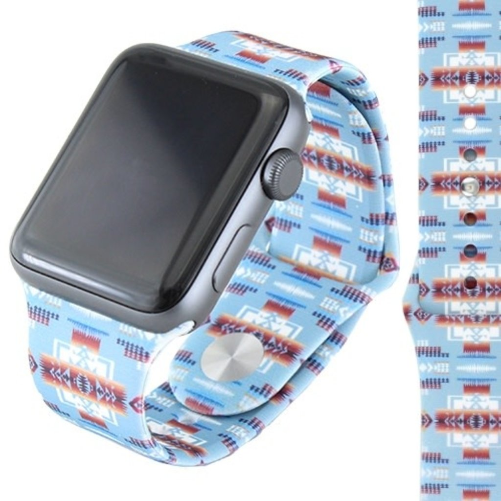 Western Print Watch Band
