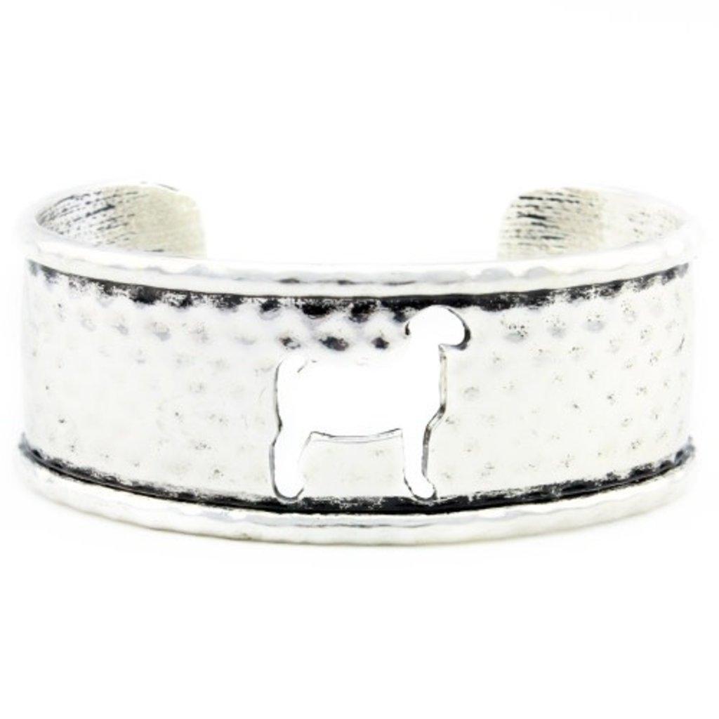 Goat Cutout Cuff Bracelet