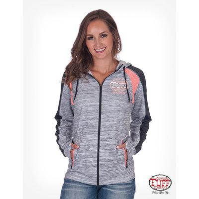 Cowgirl Tuff Lux Athletic Hoodie w/CTC Logo
