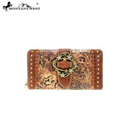 Montana West Concho Collection Wallet/Wristlet