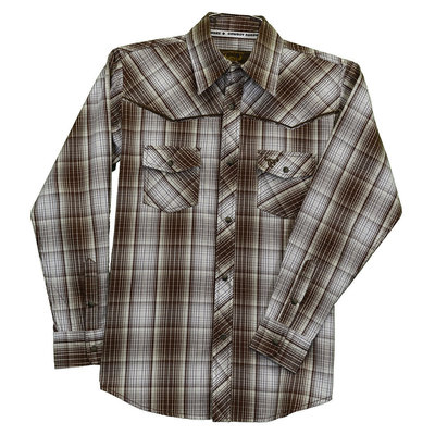 Cowboy Hardware Toddler Fellow Plaid Western Shirt