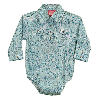 Cowboy Hardware Infant Romper Retro Bandana