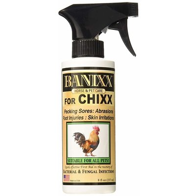 Banixx for Chixx Chicken Topical Spray 8oz