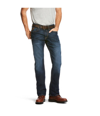 Ariat Men's Rebar M4 LR Durastretch Jean Maritime