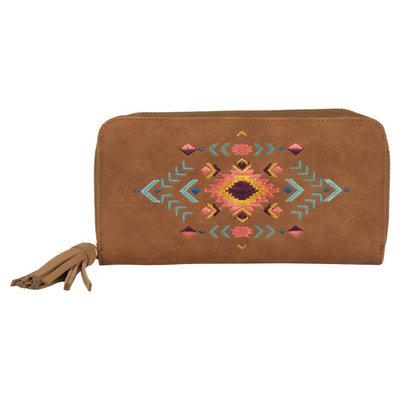 Catchfly Zippered Wallet