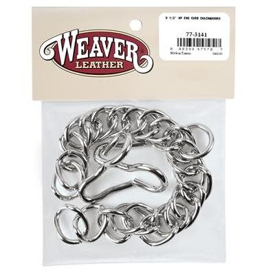 Weaver English Curb Chain with Hooks NP
