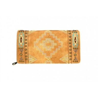 Aztec Collection Secretary Style Wallet