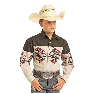 Panhandle Slim Kid's Border Western Shirt C0S1121