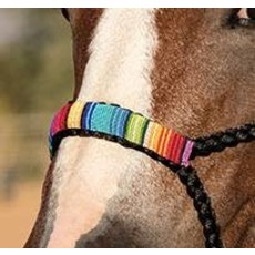 Professional's Choice Cowboy Braided Halter w/Beaded Nose